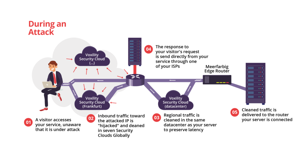 DDoS Mitigation | meerfarbig net - AS34549 - Internet Service Provider